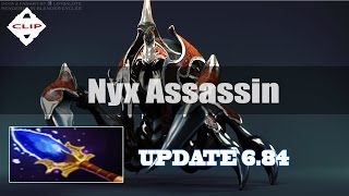 Dota 2 update 6.84 - Nyx Assassin with Aghanim's Scepter