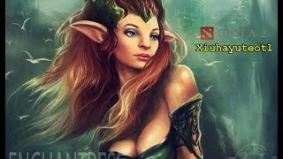 Dota 2 - How to play Enchantress | Carry Dryad # Xiuhayuteotl