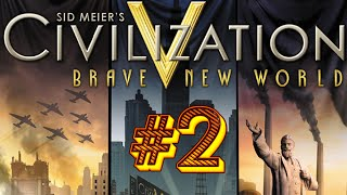 Sid Meier's Civilization V: Brave New World - #2 - Торгуем, развиваемся