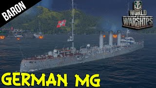 Ze German Machine Gun Ship!  World of Warships German Cruiser Gameplay