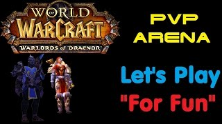 [СТРИМ] World of WarCraft: Warlords of Draenor | ПВП Арена 2x2 — Рдруид и ММхант | # 3