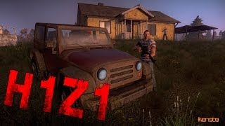 H1Z1: Base Building & More in NEW Pre-Alpha Screenshots! (H1Z1 Pre-Alpha Gameplay Screenshots)