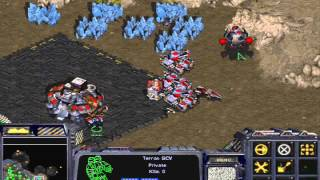 Let's play Starcraft: Brood War! Part 8 Tanks tanks tanks