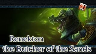 Гайд по Renekton. League of Legends.