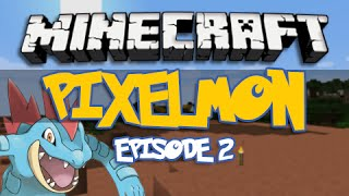 Minecraft Pixelmon | Wonder Trade | Episode 2 (Pokemon Mod)
