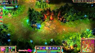 Играю в Лигу Легенд [League of Legends] - Качаю Аккаунт 1-30 Level #211