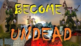 How to: Become UNDEAD and look like Professor Putricide. (World of Warcraft Gameplay)