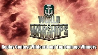 World of Warships Replay Contest Wildcard and Winner