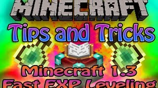 Minecraft Tips and Tricks - Minecraft 1.3 Fast Leveling - Fast xp & Enchantment Guide