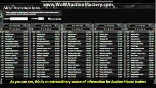 World of Warcraft MoP Auction House Guide - Gold Making