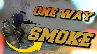 ONE WAY SMOKE ON DUST 2 CS:GO | НУЖНАЯ ФИШКА