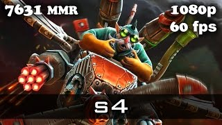 s4 Gyrocopter 7631 MMR Ranked Match Dota 2