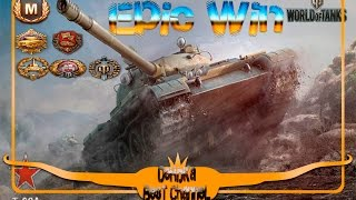 World of Tanks/WoT - T62-A  9812 Урона,10 Фрагов,Мастер,Медаль Пула+Epic Win