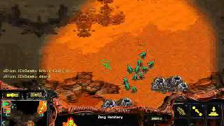 StarCraft Brood War [FPVOD]  Strelok 2x2 Когда решает неожиданность Strelok & White Ra