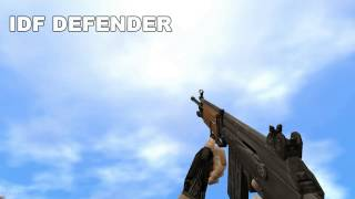Counter Strike 1.6 All Weapons In Slow Motion [FULL HD, MAX DETAILS , CS STEAM]