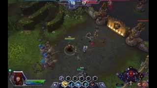 Heroes Of The Storm (Валла) путь в лигу