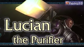 Гайд по Lucian. League of Legends.