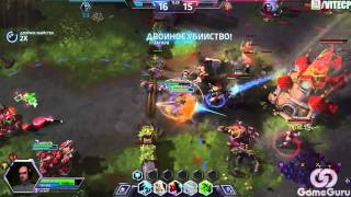 "Heroes of The Storm [nostream] - Светик Brightwing 18.09.14 (2) ""Я у мамы хилочка :)""  #aab"