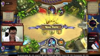Hearthstone Amaz Climbing Ladder with Secret Mage part 1 (19 Aug 2014)
