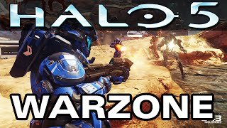 Halo 5 WARZONE Multiplayer Gameplay - Full Match | EXCLUSIVE FOOTAGE