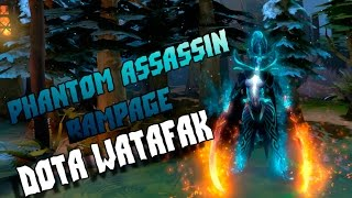 Mortred the Phantom Assassin rampage Dota2 [Excerpt]