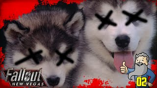 "Fallout New Vegas Gameplay Walkthrough Part 2 - ""Genny The PUPPY KILLER!!!"" 1080p HD"