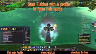 WoWBot ReBot - Fish botting in World of Warcraft