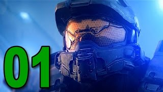 Halo 5: Guardians - Mission 1 - Osiris (Let's Play / Walkthrough / Gameplay)