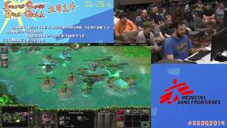 SGDQ 2014 Warcraft 3: The Frozen Throne  Speed Run in 1:07:36 Sentinels Campaign by Studio #SGDQ2014