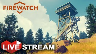 Firewatch: Job Simulator & Exploring Mountains | Complete Gameplay Walkthrough LIVE Stream