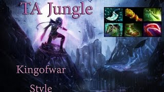 Dota 2 - Templar Assasin JUNGLE x2 Rampage Kingofwar
