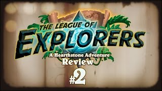 Hearthstone: The League of Explorers Review - Part 2 - Warrior, Warlock, Shaman, Rogue, Priest