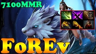 Dota 2 - FoREv 7100 MMR Plays Mirana Vol 3 - Pub Match Gameplay!