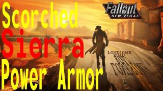 Fallout:NV Lonesome Road - Scorched Sierra Power Armor