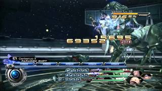 Final Fantasy XIII-2 Magic Chichu one-staggers Valfodr Lv. 70
