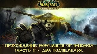 WOW Прохождение World of Warcraft Mists of Pandaria монахом с друзьями. (Часть 9 - Два подземелья)