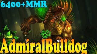 Dota 2 - AdmiralBulldog 6400+ MMR Plays Bristleback - Ranked Match Gameplay!