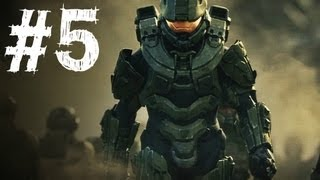 Halo 4 Gameplay Walkthrough Part 5 - Campaign Mission 3 - Enemy of My Enemy (H4)