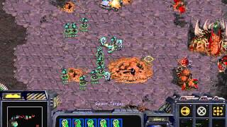 Starcraft: Brood War -Terran Campaign Mission 8 - [To Chain the Beast + Ending] Walkthough/Lets Play