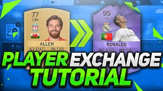 FIFA 16  IOS - PLAYER EXCHANGE TUTORIAL??!!!!!!!!