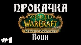 World of Warcraft-Mists of Pandaria Co-op прокачка 1-90. Часть 1.