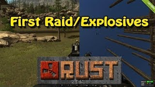 Rust: First Raid/Researched Explosives