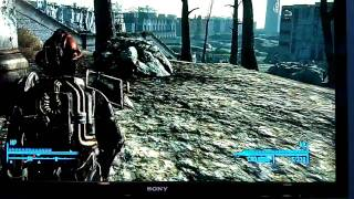 Fallout 3 callahan's Magnum + deathclaw on your side