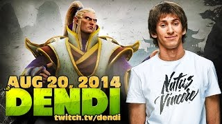Dota 2 Stream: Na`Vi Dendi - Invoker (Gameplay & Commentary)