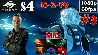 s4 (Secret) - Zeus MID Pro Gameplay Dota 2 | MMR @60fps #3