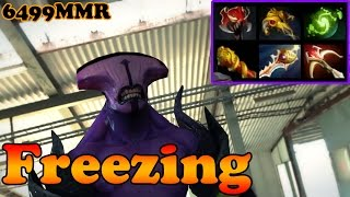 Dota 2 - Freezing 6499 MMR Plays Faceless Void vol 5# - Ranked Match Gameplay