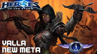 Heroes of the Storm (Rank 1)  Valla Gameplay 'New Meta'