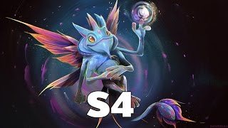 [Dota2] Team Secret s4 Pro Puck Mid Rank MMR ( S4 Gameplay )