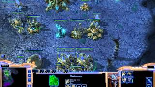 SC Brood war Protoss Mission 2. [Starcraft 2 remake]