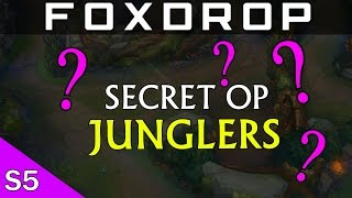 Hidden OP Junglers in Patch 5.5 League of Legends